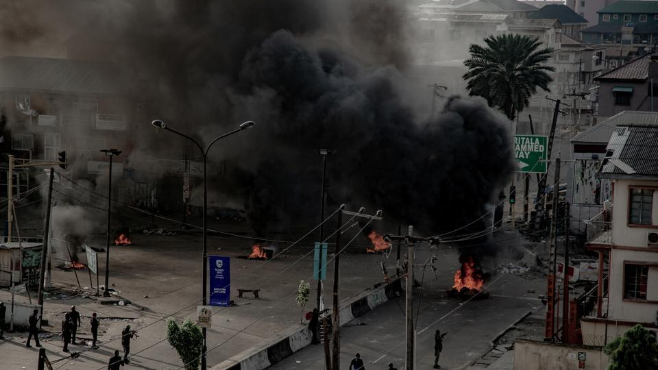 Violence, particularly in the commercial capital Lagos, escalated after demonstrators were shot on Tuesday night