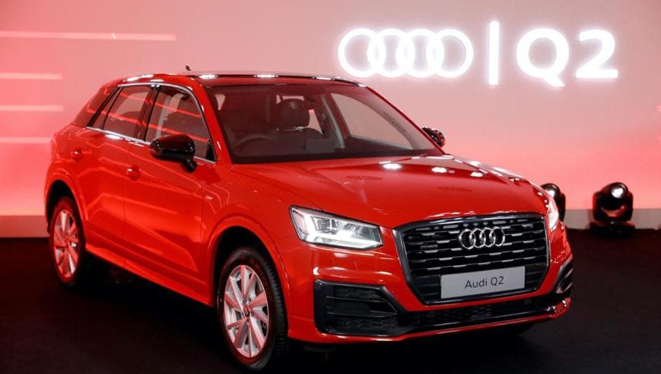 Audi Q2 being launched in India on Friday. (ANI Photo)