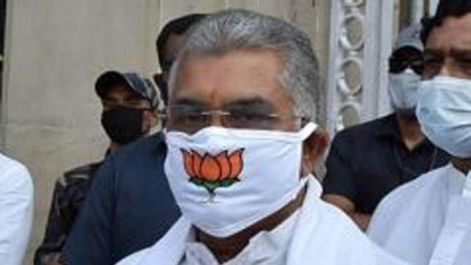 Kolkata: BJP state president Dilip Ghosh.