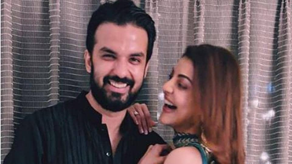 Kajal and Gautam Kitchlu will marry on October 30.