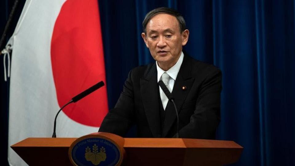 Japan PM Yoshihide Suga (FILE PHOTO/REUTERS)