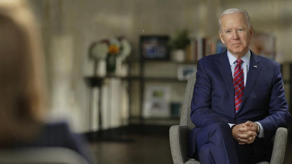 """Joe Biden rejected ever taking """"a penny"""" from foreign sources and also expressed a belief that Russia did not want his victory in the November election."""