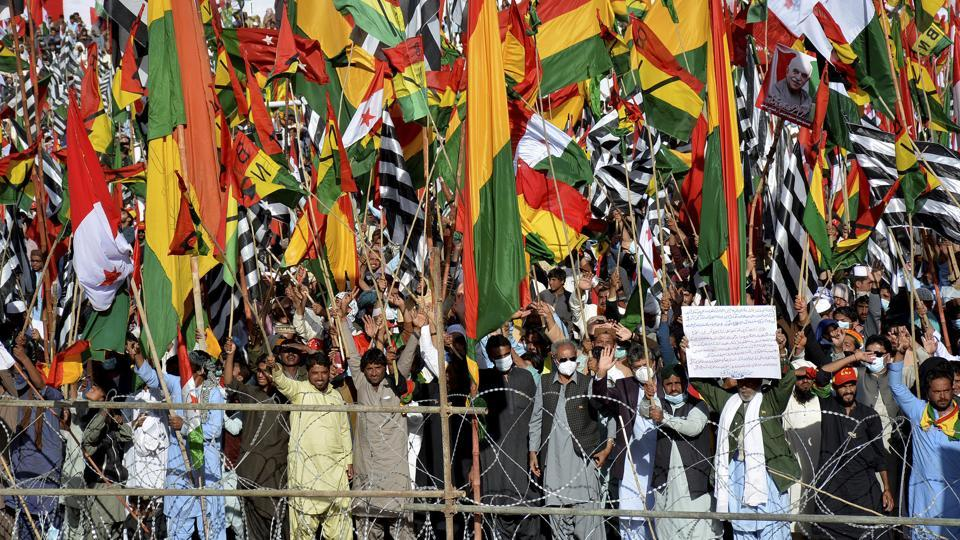 Pak joint oppn holds massive rally in Quetta