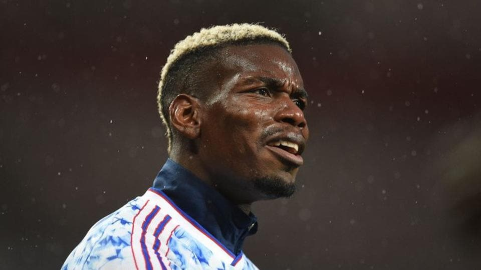 Soccer Football - Premier League - Manchester United v Chelsea - Old Trafford, Manchester, Britain - October 24, 2020 Manchester United's Paul Pogba during the warm up before the match Pool via REUTERS/Oli Scarff