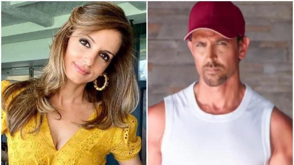 Hrithik Roshan has commented on ex Sussanne Khan's birthday post.