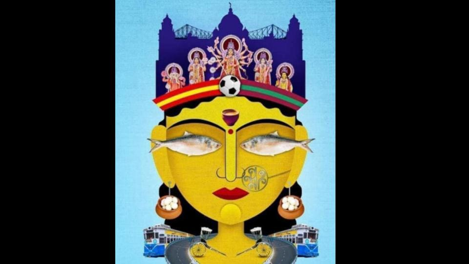The image shows the artwork shared by Amitabh Bachchan.