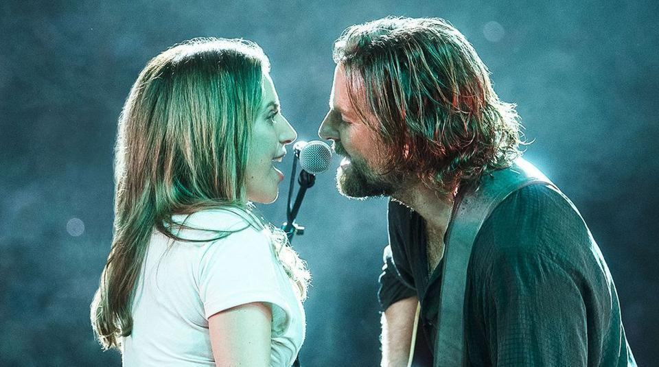 Lady Gaga and Bradley Cooper in A Star Is Born (Representational).