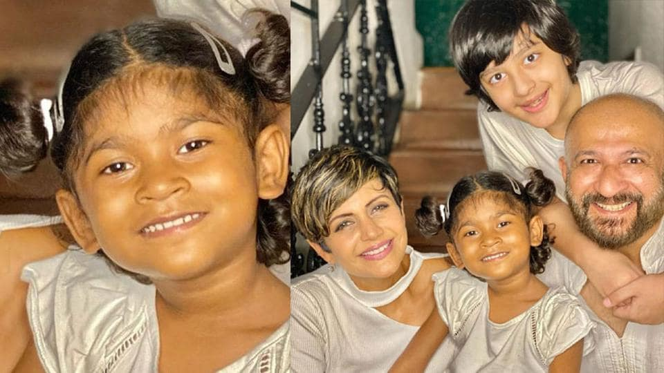 Mandira Bedi has adopted a four-year-old girl child, Tara.