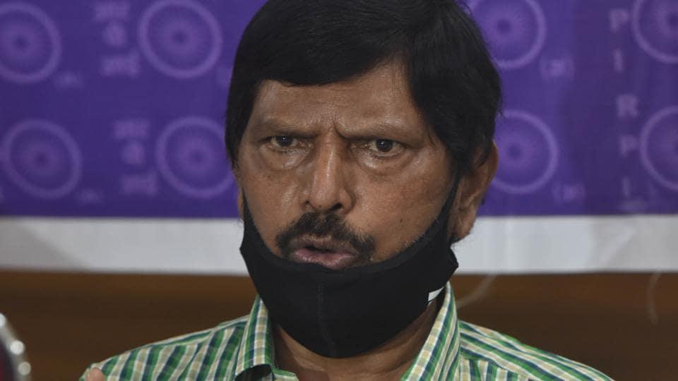 Union minister Ramdas Athawale.