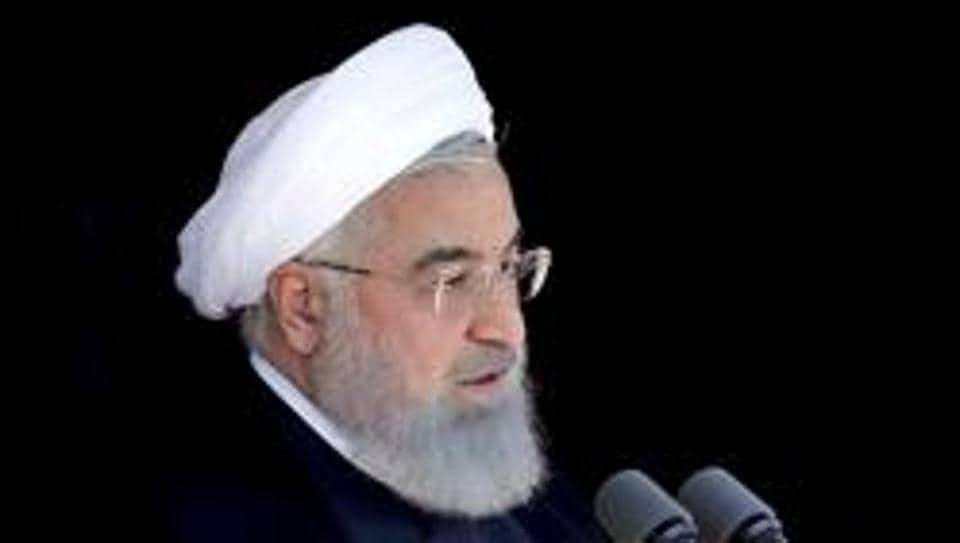 Iran President Hassan Rouhani.
