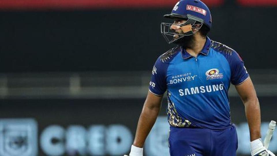 Mumbai Indians captain Rohit Sharma.