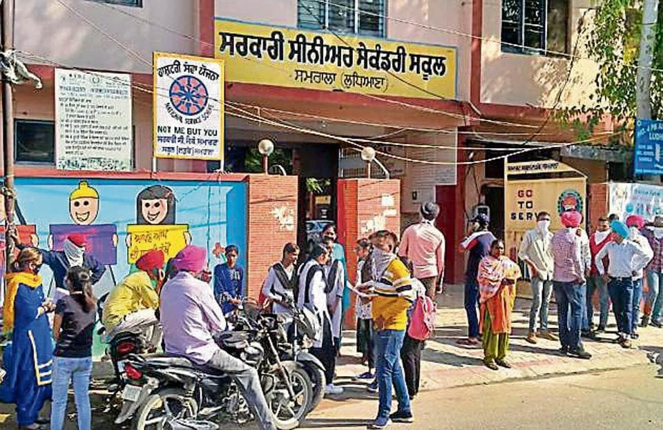 School principal Davinder Singh said the teacher was also a class in-charge so he had lots of paperwork to do. He had come in contact with some students who had come to him for registration and document-related tasks.