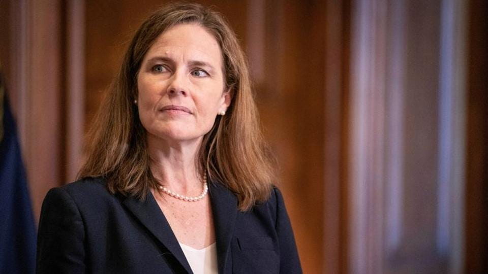 A White House swearing-in ceremony for Barrett is being planned for Monday evening with Justice Clarence Thomas set to administer the oath of office.