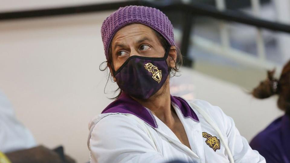 Kolkata Knight Riders co-owner Shah Rukh Khan.