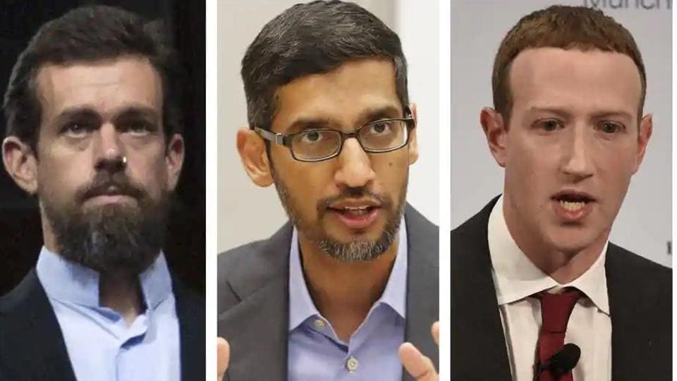 Republicans tell tech CEOs 'free pass' legal shield should end