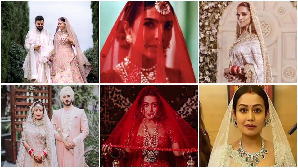 Neha Kakkar's wedding outfits have earned some flak on social media.