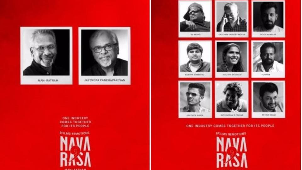 Netflix and Mani Ratnam will work together on an anthology film comprising nine stories.