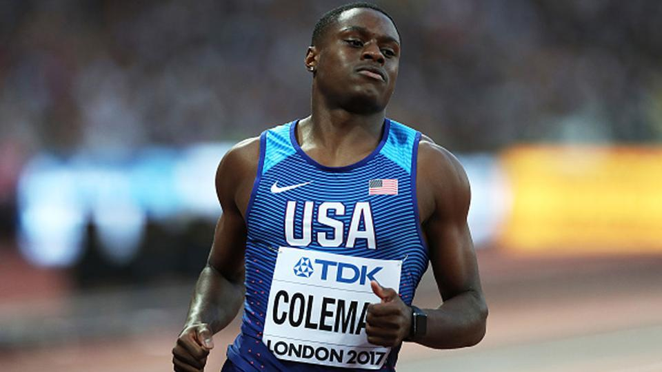 Christian Coleman had complained that the AIU's doping control officers had not called him on that night on December 9.