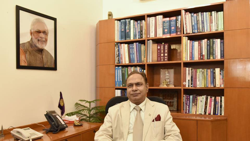 DU Vice Chancellor Prof Yogesh Tyagi has been suspended by the ministry of education on Wednesday.