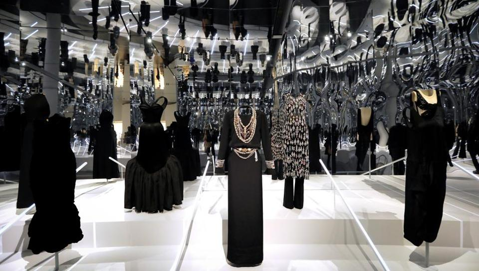 Creations are displayed at The Costume Institute's upcoming exhibition