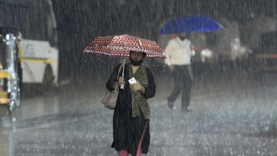 The IMD declared the south-west monsoon withdrawal from Mumbai, the rest of Maharashtra and the country on Wednesday .