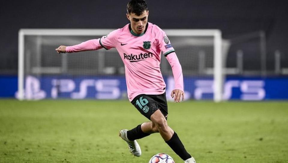 FC Barcelona's Pedri.