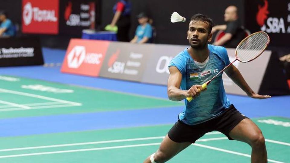 Photo of Indian badminton player Subhankar Dey