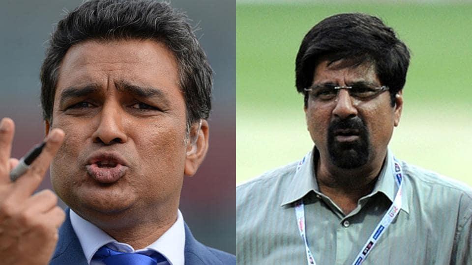 File images of Sanjay Manjrekar (L) and Kris Srikkanth.