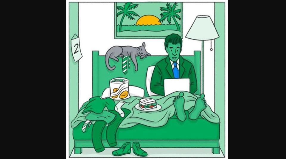 One of the WFH scenarios shared by Google.