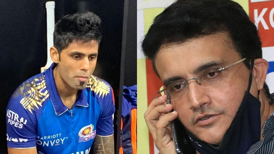 Dilip Vengsarkar wants Sourav Ganguly to look into the matter involving Suryakumar Yadav's omission from India's upcoming tour of Australia.