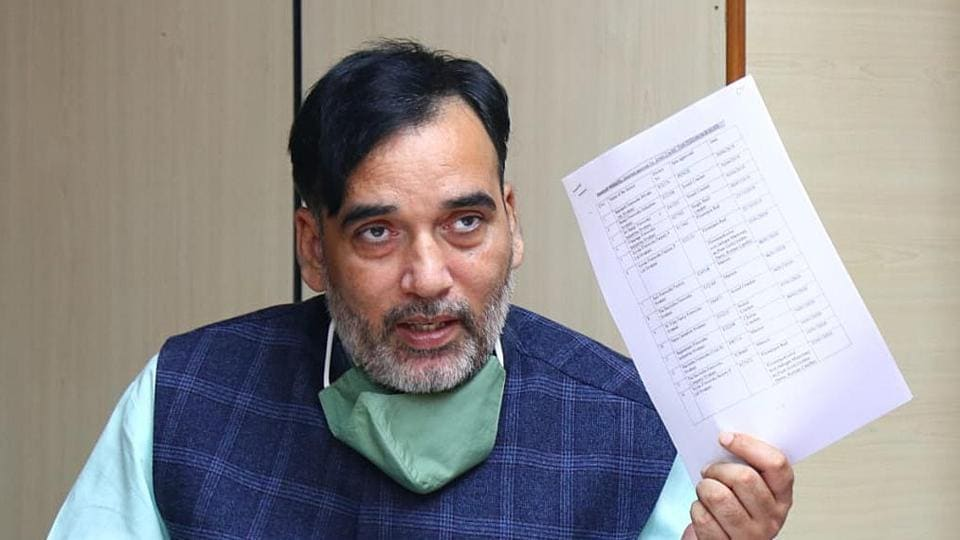 The minister also said 228 complaints were received from people across Delhi on the Green Delhi application within a few hours of chief minister Arvind Kejriwal launching it.