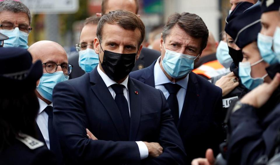French President Emmanuel Macron has pledged to crack down on radical Islam in France after the October 16 beheading of Samuel Paty, a professor who used controversial caricatures of Prophet Mohammed from the satirical newspaper Charlie Hebdo in a class on freedom of expression.