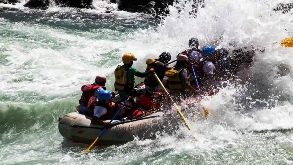 File photo: Tourists enjoying river rafting in Rishikesh.