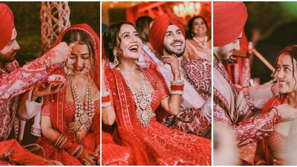 Neha Kakkar and Rohanpreet Singh got married on October 24, 2020.