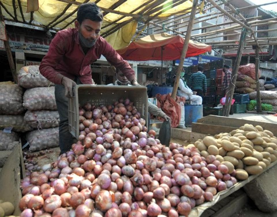 While the onion supply from Maharashtra is improving, more produce has arrived from Afghanistan as well.