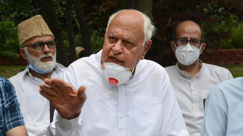 National Conference president and former J&K CM Farooq Abdullah  (File Photo/PTI)