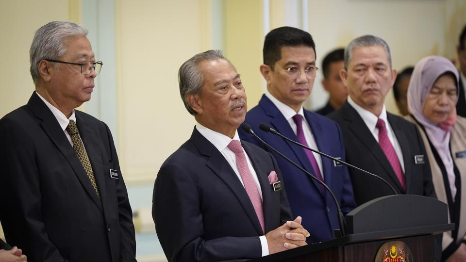 Malaysian Prime Minister Muhyiddin Yassin took power in March after withdrawing his party from Anwar's governing alliance that won 2018 polls.