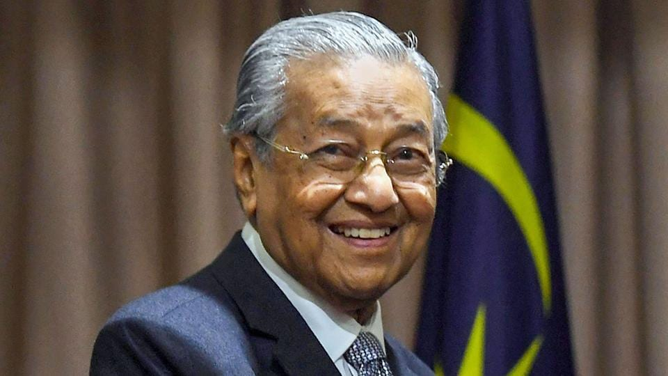 Former Malaysian PM Dr. Mahathir Mohamad