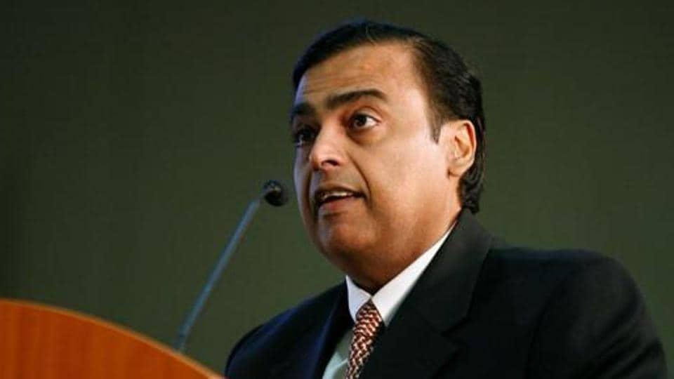 Mukesh Ambani, chairman of Reliance Industries.