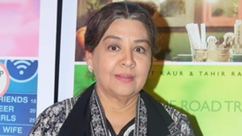 Actor Farida Jalal was last seen in the Bollywood film Jawaani Jaaneman.