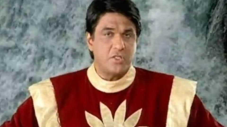 Mukesh Khanna as Shaktimaan.
