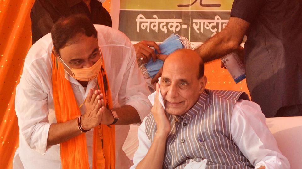 'Will be difficult for them to save face,' Rajnath Singh attacks Congress on China issue
