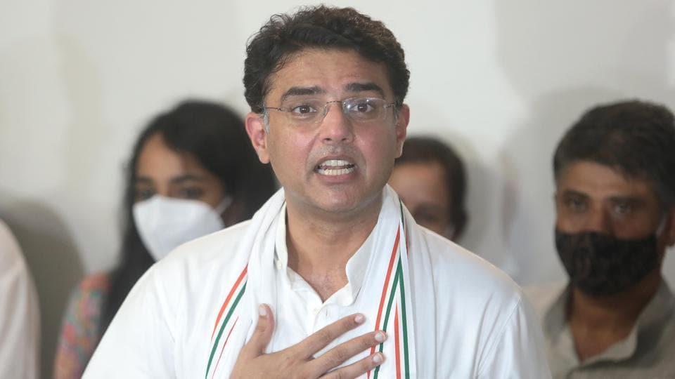 Senior Rajasthan Congress leader Sachin Pilot.