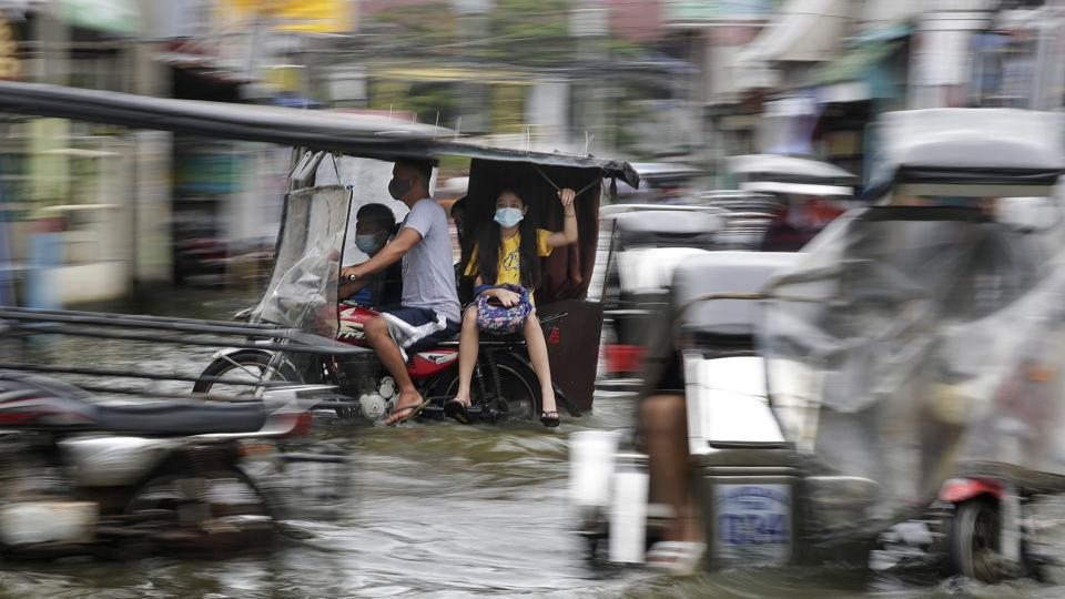 Typhoon Molave last week killed 22 people, mostly through drowning in provinces south of the capital Manila, which is also in the projected path of Goni, the 18th tropical storm in the country.
