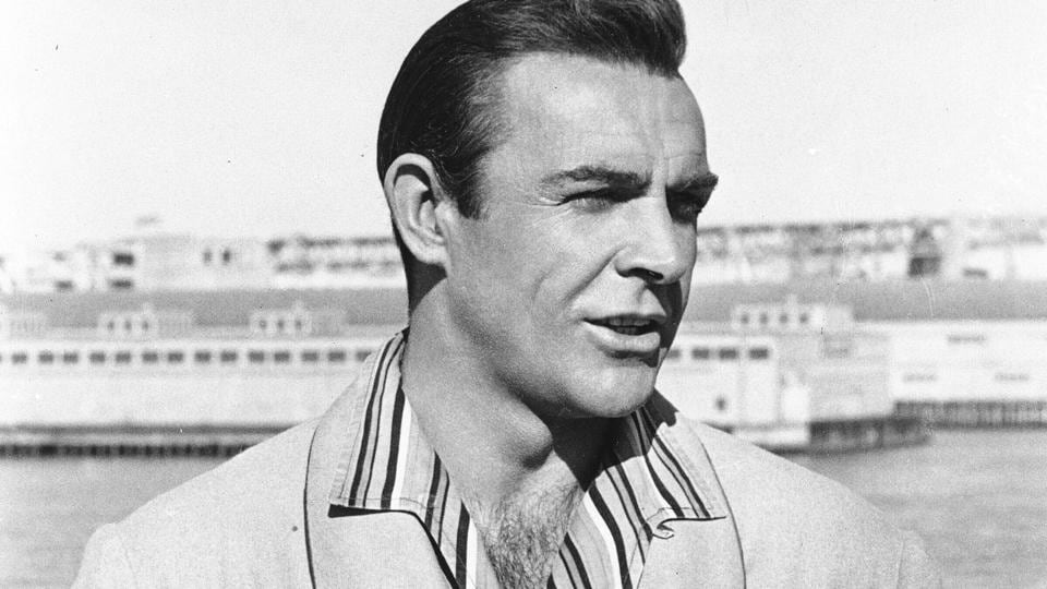 1964 file photo of actor Sean Connery, born in Edinburgh, Scotland. Connery has died aged 90.