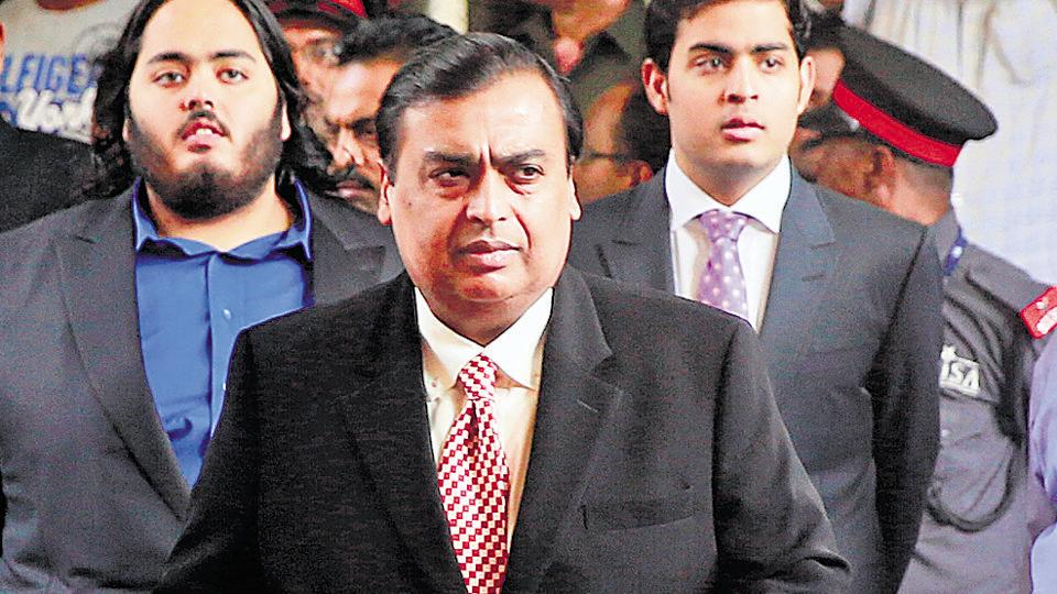 The slip in earnings backs Mukesh Ambani's strategy and highlights the increasing need for Reliance to reduce its dependence on the energy sector