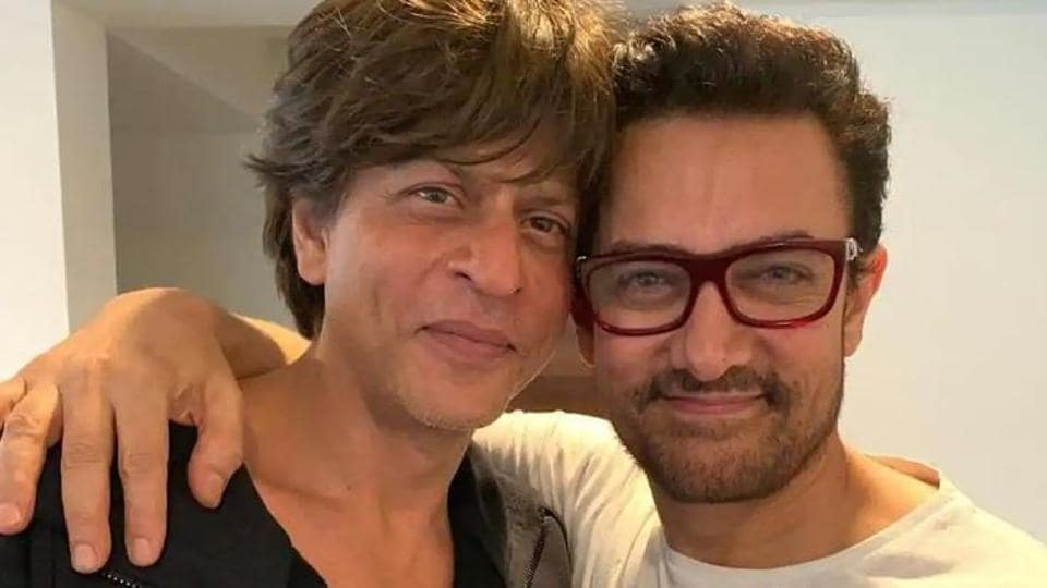 Both Shah Rukh Khan and Aamir Khan haven't starred in a film since 2018.