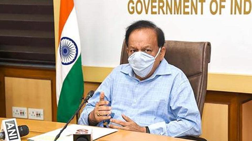 Union health minister Harsh Vardhan.