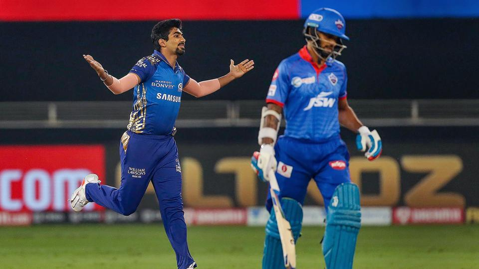 IPL 2020, DC vs MI: 4 overs, 14 runs, 1 maiden, 4 wickets – Bumrah registers best T20 bowling figures to maul Delhi Capitals - cricket - Hindustan Times