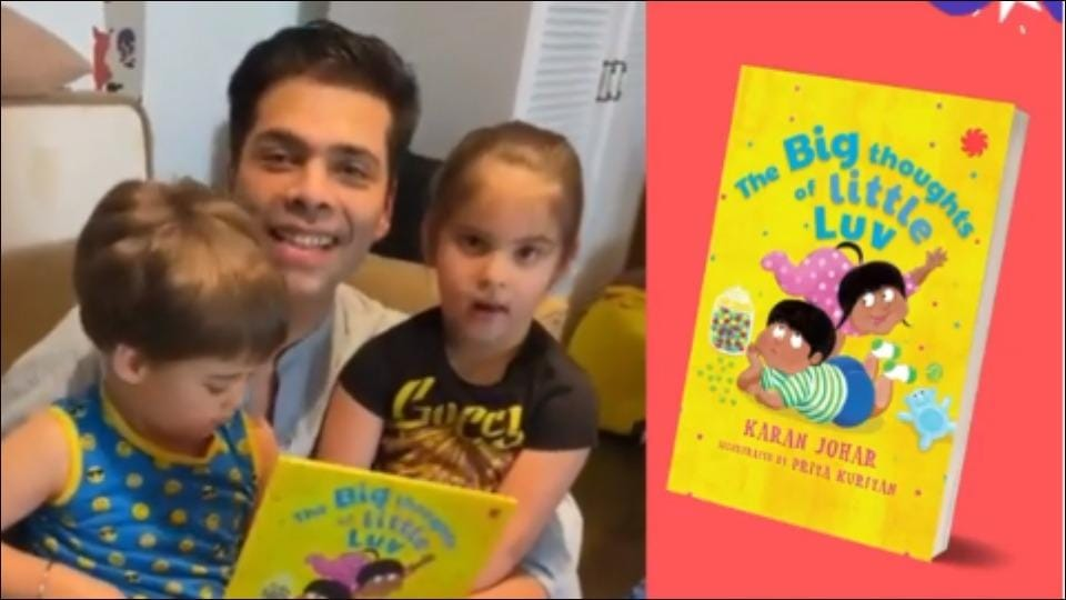 Yash-Roohi Johar's critical review Karan Johar's 'The big thoughts of little Luv' is all we need to brush aside Monday blues
